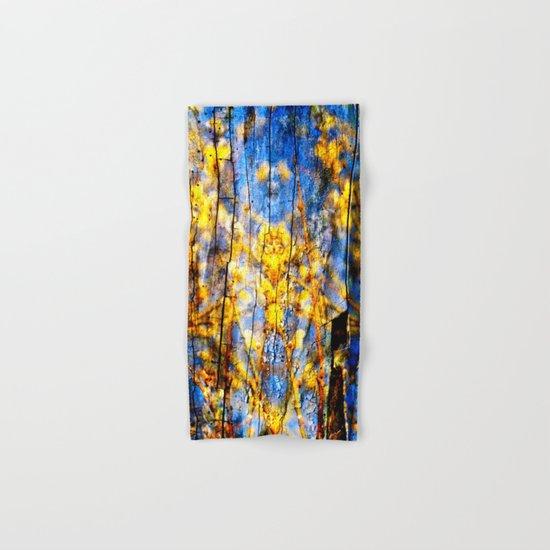 BLUE SYMPHONY of SPRING Hand & Bath Towel