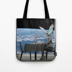 Waiting for lunch! Tote Bag