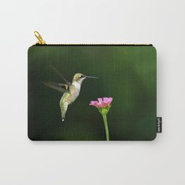 One Hummingbird Carry-All Pouch