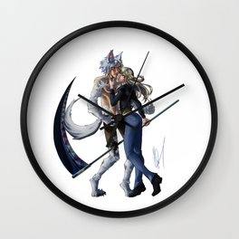 Caught Up In You Wall Clock