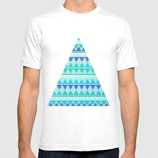 Winter Aztec Pattern T-shirt