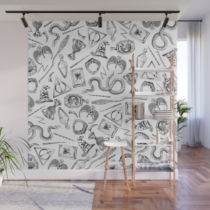 Harry Potter Horcruxes and Items Wall Mural
