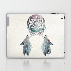 wolf moon Laptop & iPad Skin