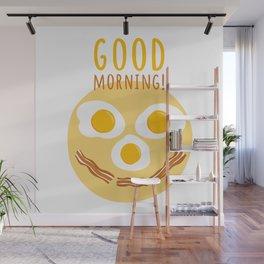 Good morning print Wall Mural