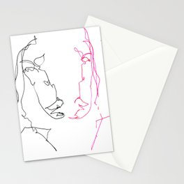 Left Right Patti Smith Stationery Cards