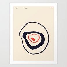 SOLAR PRIMITIVE 002 Art Print