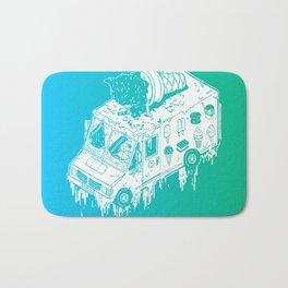 Melty Ice Cream Truck - Mint Bath Mat