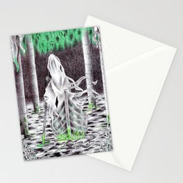 Charon's boat Stationery Cards