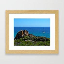 Castle Rock Framed Art Print