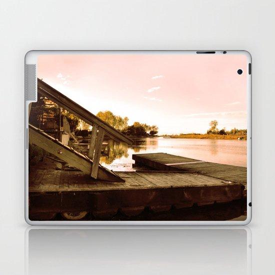 Cottage Sky Laptop & iPad Skin