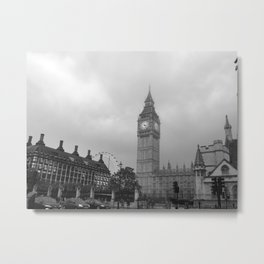 London Sights Metal Print