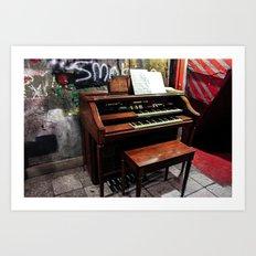 Basement Organ Art Print