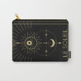 Le Soleil or The Sun Tarot Carry-All Pouch