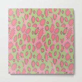 Juiciest Fruits Make for Juicy Dreams   Abstract Pattern Metal Print