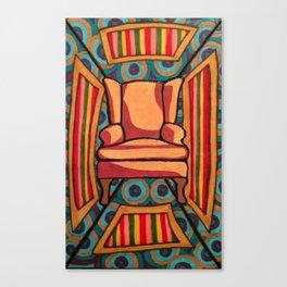 Chair 001 Canvas Print