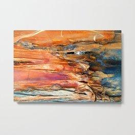 Wood Texture 86 Metal Print