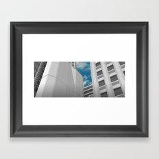 When the Wind Blows Framed Art Print