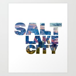 Salt Lake City Utah Capital Building State Legislature Art Print