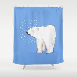 Polar Bear #8 Shower Curtain