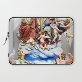 ANGELS - JESUS - GOD - SICILY - Church of THE GODFATHER - Forza d'Agro Laptop Sleeve