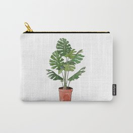 Philodendron Selloum Carry-All Pouch