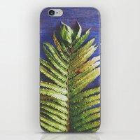 fern iPhone & iPod Skins featuring Fern by Olivia Joy StClaire