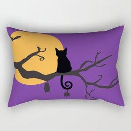 Halloween Meow Rectangular Pillow