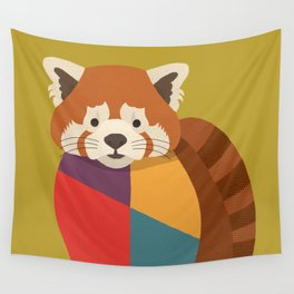 Red Panda Wall Tapestry