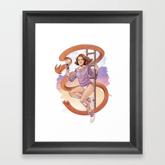 Pardon My French! Framed Art Print