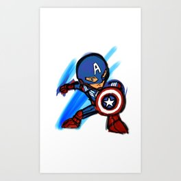 Captain Art Print