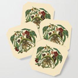 Botanical English Bulldog Coaster