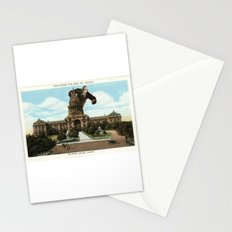 The King of Austin Stationery Cards