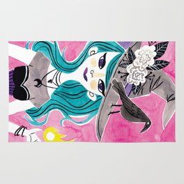 Witchy Girl Rug