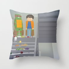 The Nick Yorkers in October Throw Pillow