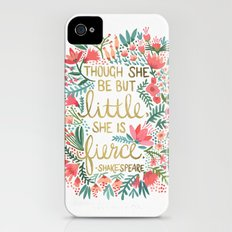 Little & Fierce iPhone (4, 4s) Slim Case