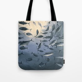School of Fish 2 Tote Bag