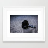 zen Framed Art Prints featuring Zen by Michelle McConnell