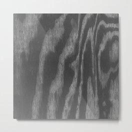 BLACK PLY Metal Print