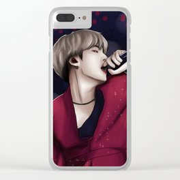 bts suga seesaw Clear iPhone Case