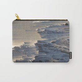 Pacific Ocean Pixel Sort Carry-All Pouch