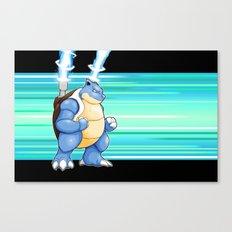 Water Pocket Monster #009 Canvas Print
