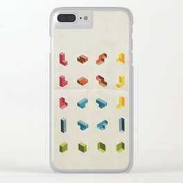 80s Starter Pack Clear iPhone Case