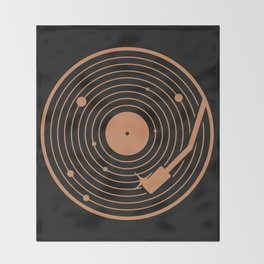 The Vinyl System Throw Blanket