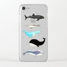 Whales! Clear iPhone Case