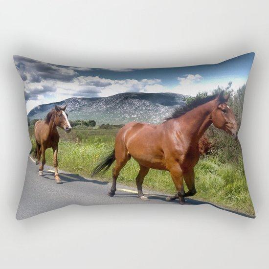 Into the West Rectangular Pillow