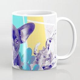 Eclectic Geometrical Bulldog Coffee Mug