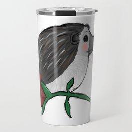 Hedgehog Rose Travel Mug