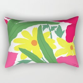 Floral Chorus1  Rectangular Pillow