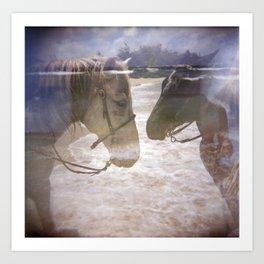 Equestrian Art Print