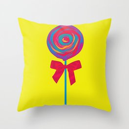 Bittersweet Candy Throw Pillow